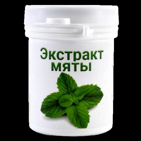 Экстракт мяты перечной, 50г