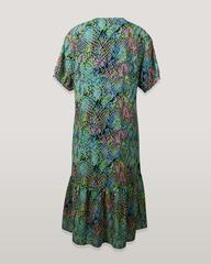 Платье Kate 6161 волан рептилия к/р