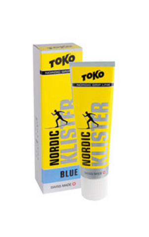 Картинка клистер Toko Grip Line клистер,синяя, -7°С/-30°С, 55 гр. синий - 1