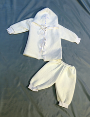 Утепленный крестильный набор для мальчика
