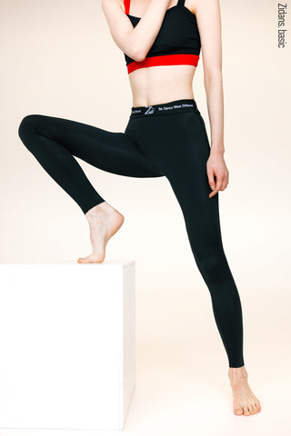 Ziphirus leggings basic | black