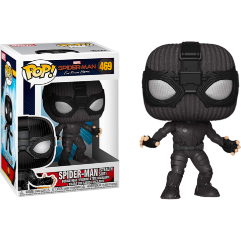 Фигурка Funko Pop! Marvel: Spider-Man: Far From Home - Spider-Man (Stealth Suit)