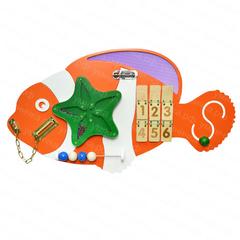 Бизиборд «Рыба клоун»