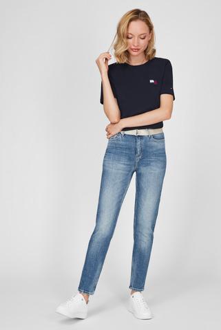 Женские голубые джинсы GRAMERCY TAPERED Tommy Hilfiger