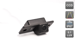 Камера заднего вида для Porsche Cayenne I 02-10 Avis AVS326CPR (#105)