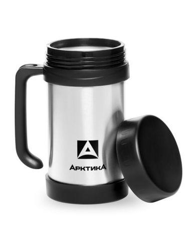 Термос для еды Арктика (0,5 литра), с ручкой
