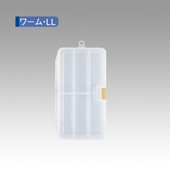 MEIHO WORM CASE CLEAR LL