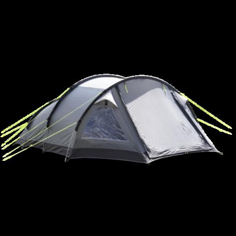 Кемпинговая каркасная палатка KAMPA Mersea 3