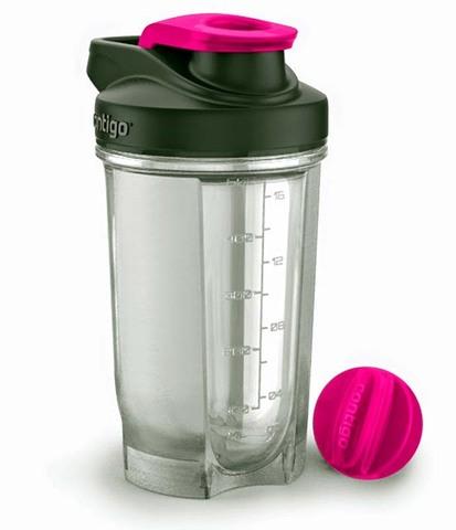 Шейкер Contigo Shake & Go (0,59 литра), розовый