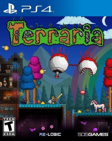 Terraria – PlayStation 4 Edition (PS4, английская версия)