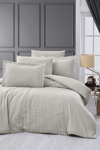 Комплект постельного белья DO&CO Сатин  жаккард  EXCLUSIVE 200*220 (50*70/2) (70*70/2) 250TC DARCELL цвет бежевый