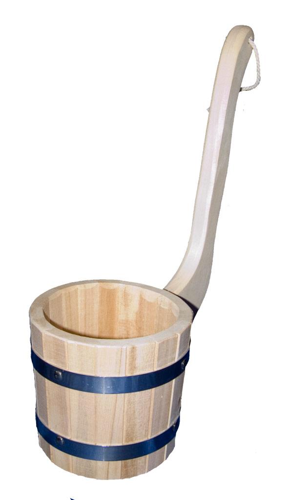 Ковш-черпак бондарный 1 литр (липа)