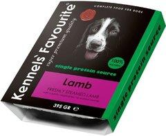 Влажный корм для собак всех пород и возрастов Kennels Favourite 100% Lamb Свежепареное мясо с ягненком