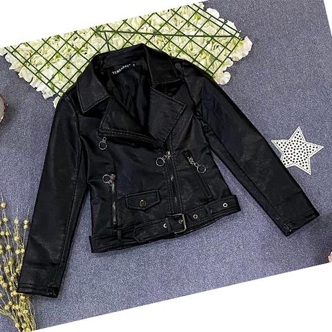 Куртка экокожа девочке (5-9) 210205-J7118