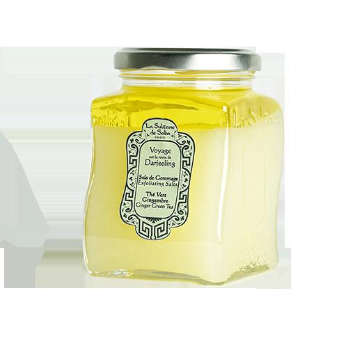 Соль LA SULTANE de SABA Зелёный Чай/Имбирь Гоммаж 300 мл