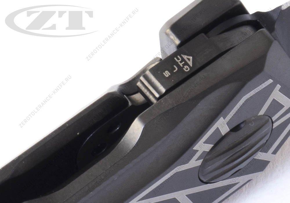 Нож Zero Tolerance 0055BLK First 7 GTC Airborne - фотография