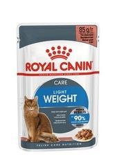 Пауч для кошек склонных к полноте, Royal Canin Ultra Light, в возрасте от 1 года до 7 лет, в соусе