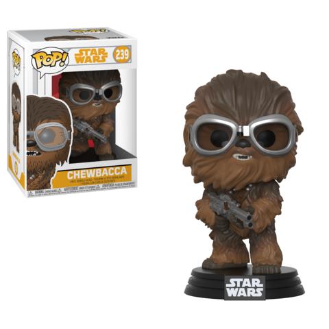 Фигурка Funko POP! Bobble: Star Wars: Solo: Chewbacca w/ Goggles POP 4 26975