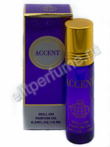 Accent 10 мл арабские масляные духи от Фрагранс Ворлд Fragrance world