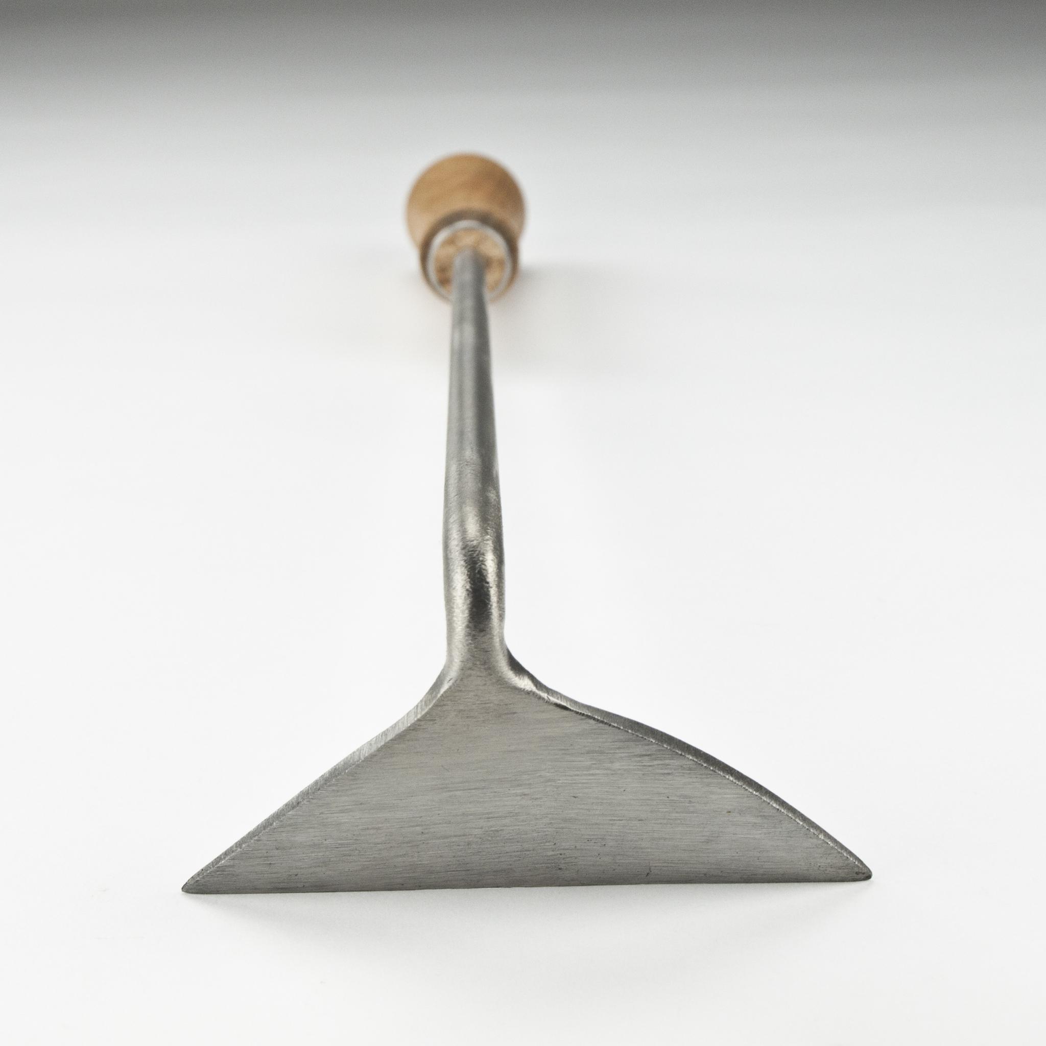 Мотыга ручная 10 см Sneeboer праворучная, ручка вишня
