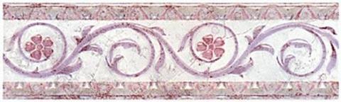 Бордюр Травы розовый B184\830 200х58