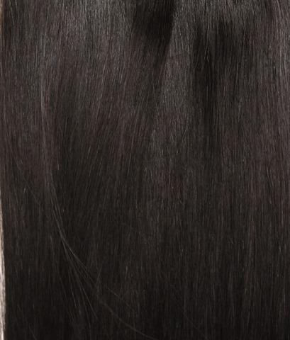 Длина 65 см -Оттенок 1B-Темно коричневый с черным отливом