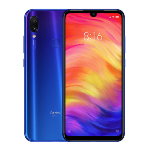 Смартфон Xiaomi Redmi Note 7 4/64Gb Blue EU (Global Version)