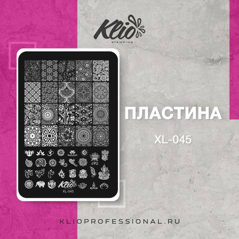 ПЛАСТИНА ДЛЯ СТЕМПИНГА KLIO PROFESSIONAL XL-045