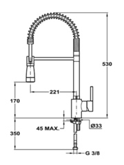 Смеситель TEKA ARK 939 - схема