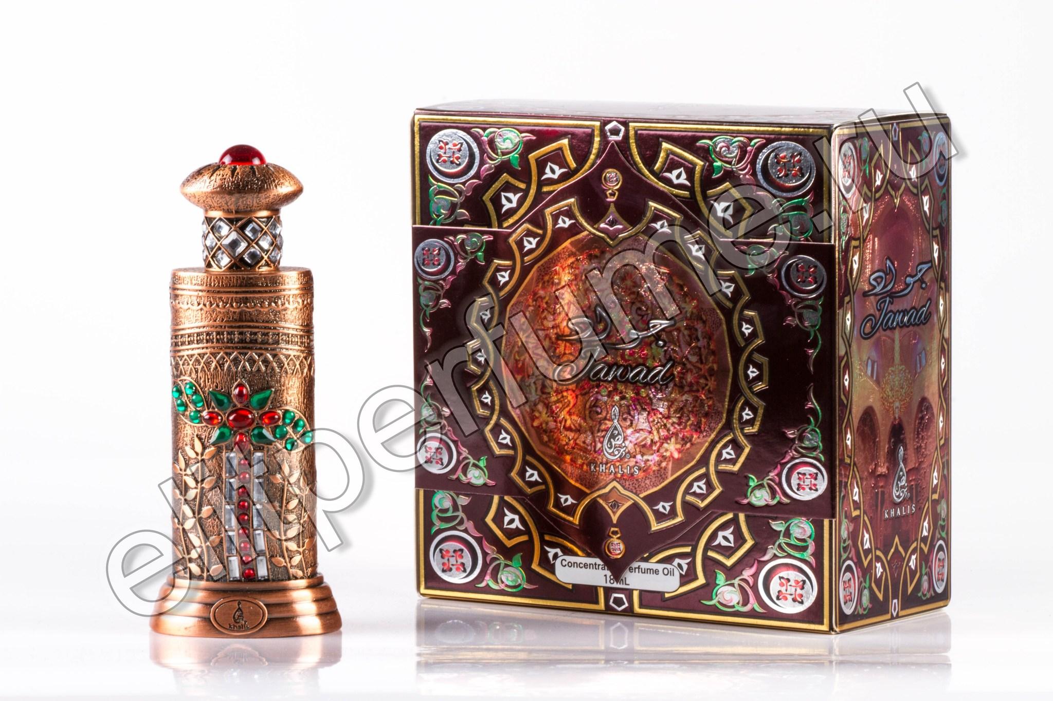 Jawad Джавад 18 мл Унисекс арабские масляные духи от Халис Khalis Perfumes