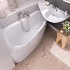 Акриловая ванна Ravak AVOCADO CT01000000 150х75 L белая