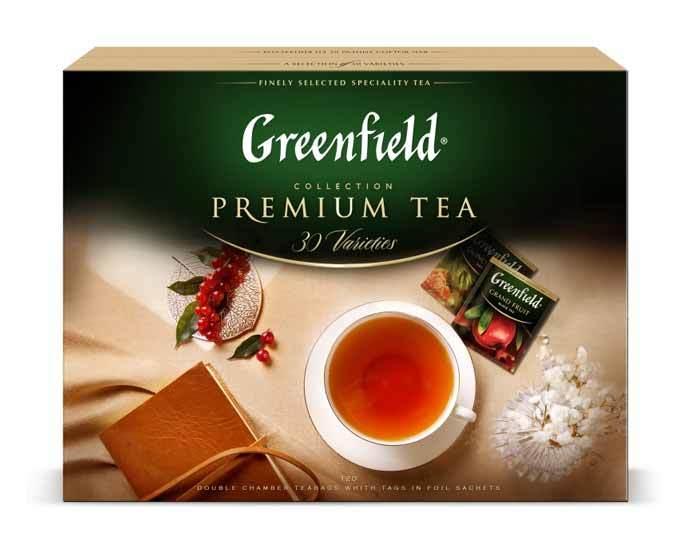Набор чая в пакетиках Greenfield, 30 пак/уп