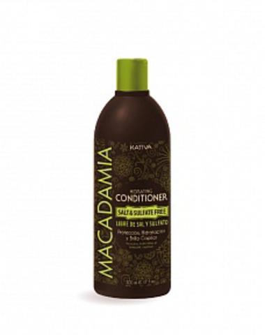 Увлажняющий кондиционер для нормальных и поврежденных волос MACADAMIA, 500 мл., Kativa