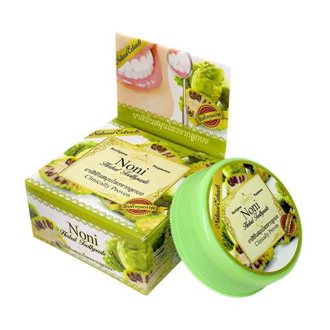 Зубная паста с экстрактом Нони Роджана Rochjana Herbal Noni extract 30 гр.