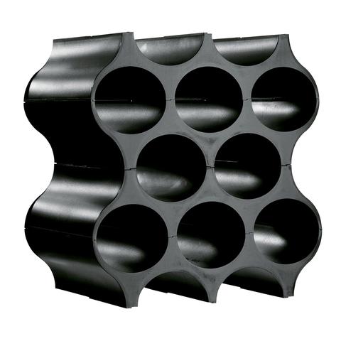 Подставка для бутылок SET-UP, чёрная
