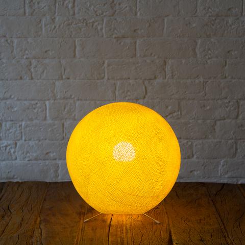 Хлопковый светильник лимон