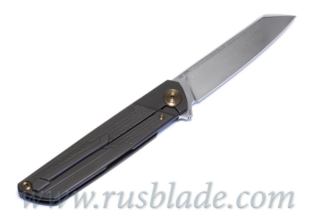 Cheburkov Dragon Damascus Knife Limited - фотография