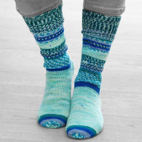 Носочная пряжа Gruendl Hot Socks Simila