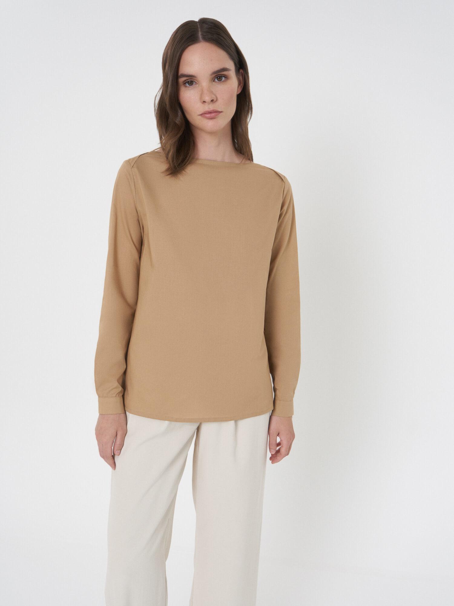 Рубашка Debora с плечевыми срезами внахлест