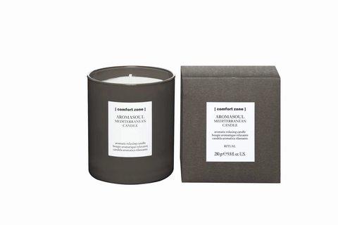 [comfort zone] Ароматическая свеча со средиземноморским ароматом AROMASOUL