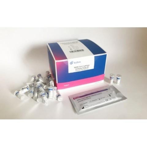 Экспресс-тест на антитела ZYBIO SARS-CoV-2 IgM/IgG Antibody Assay Kit (набор 25 шт.)