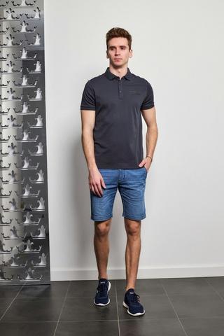 KARL Lagerfeld Поло с лого в рамке