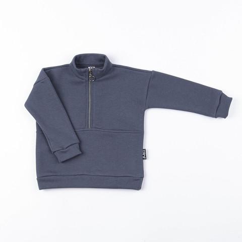 Warm sporty sweatshirt - Graphite