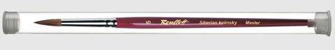 Кисть Roubloff  Колонок круглая 3 туба никель серия 301Т