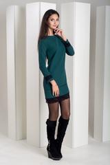 Шарлота. Красива сукня з мереживом. Смараг