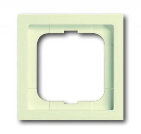 Рамка на 1 пост. Цвет Кремово-белый. ABB(АББ). Future Linear(Фьючер Линеар). 1754-0-4168