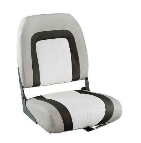 Сиденье мягкое Special High Back Seat, серо-белое