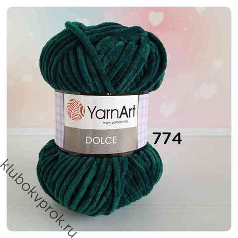 YARNART DOLCE 774, Изумруд