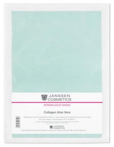 Коллаген с алоэ (зеленый лист),Janssen Collagen Aloe, 1 лист