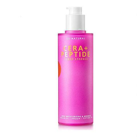 Тонер-эссенция с керамидами и пептидами So Natural Cera+Peptide Toner Essence 120ml